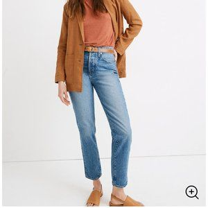 NWT MADEWELL The Perfect Vintage Jean W28